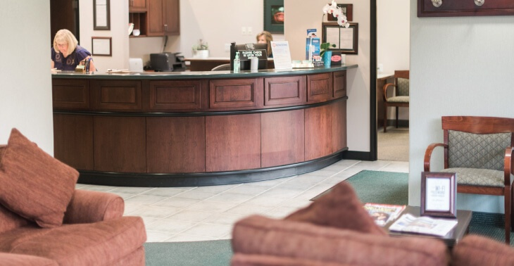 Corvallis Dental Group front desk