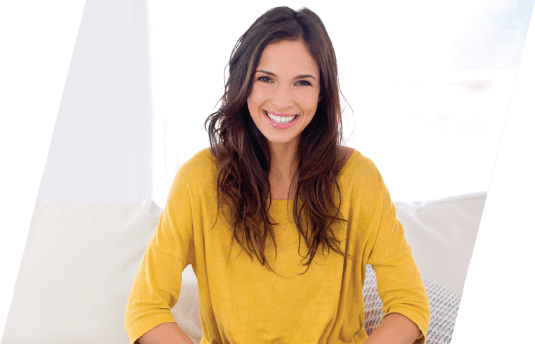 woman with a beautiful white smile