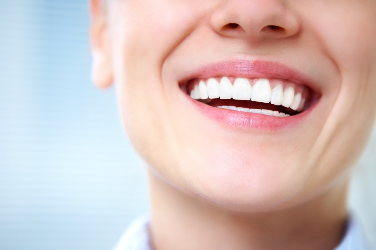 Up close practically perfect smile